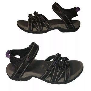 Teva Womens Tierra Sports Sandals Purple Size 7